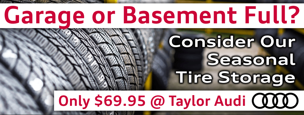 Store Your Tires With Us!