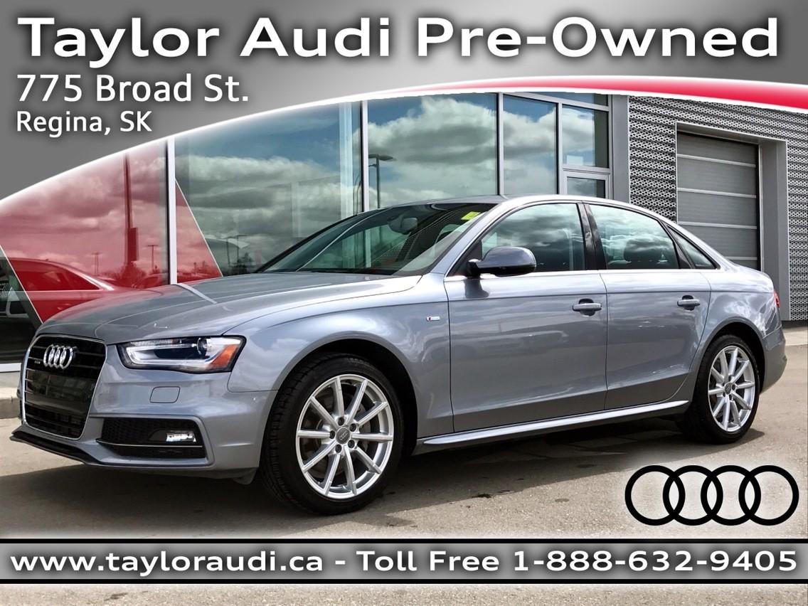 2015 Audi A4 Progressiv – $35,995