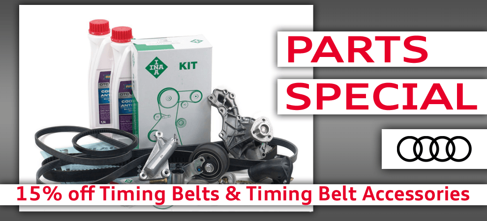 DIY Special 15% Off Timing Belts & Timing Belt Accessories