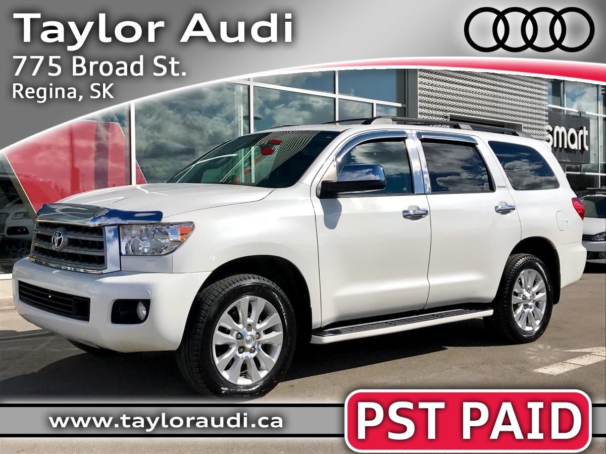2012 Toyota Sequoia Platinum – $36,995