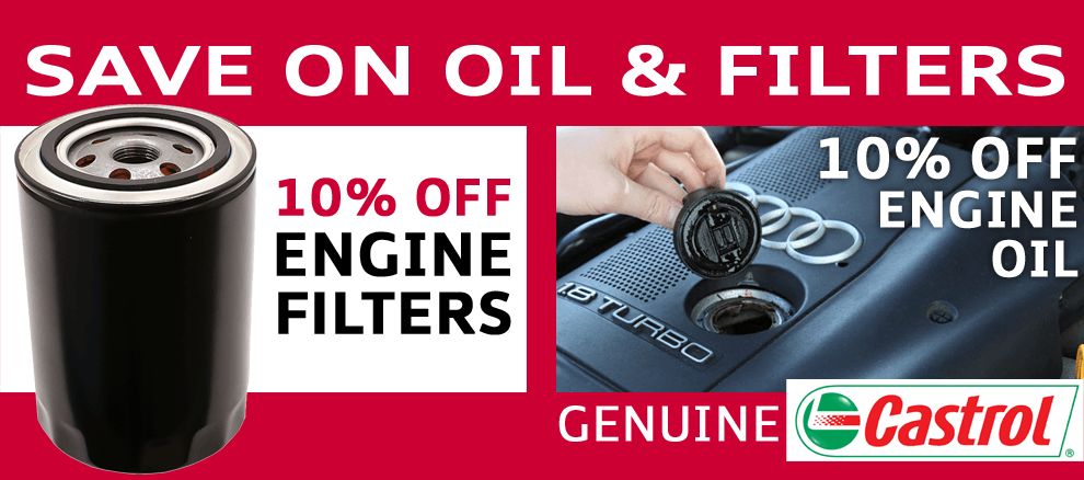 End of Summer Special – 10% off engine oil filters!