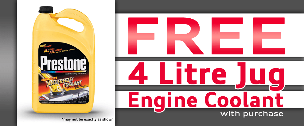 Free Engine Coolant!