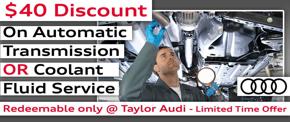 $40 off Fluid Servicing