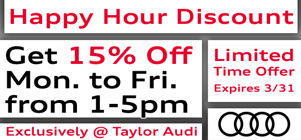 Happy Hour Service Discount