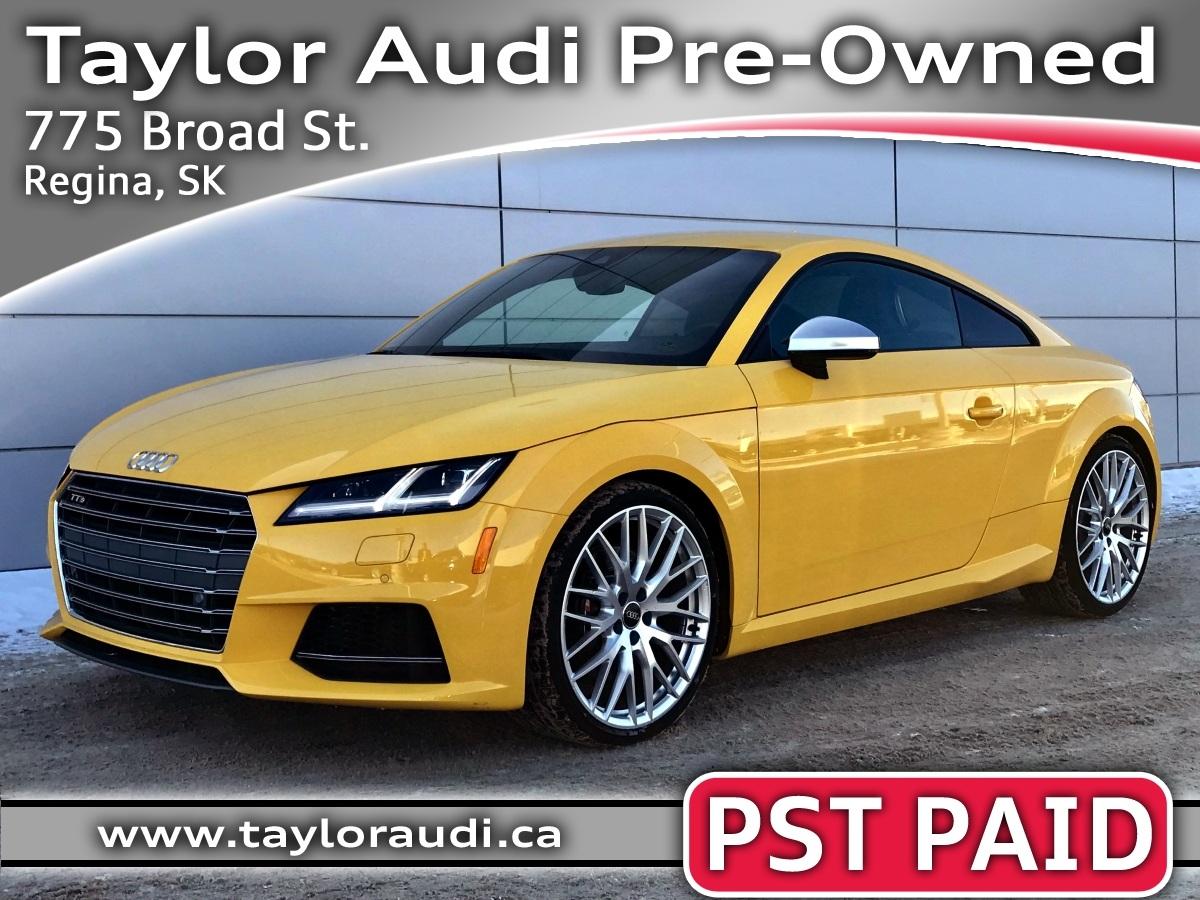 2016 Audi TTS 2.0T – $51,995