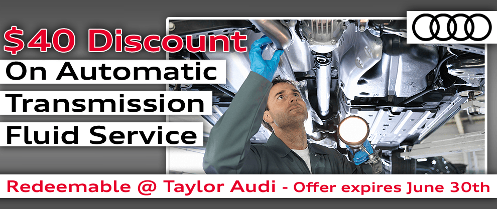Transmission Fluid Service Discount