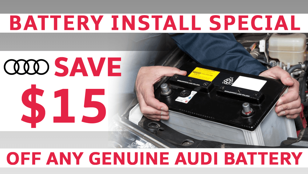 $15 Off Battery Installation