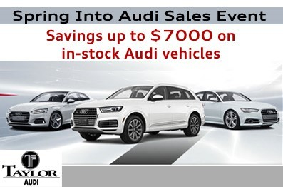Spring into Audi e-mail 1st graphic1