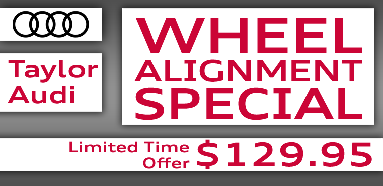 Pothole Pain Relief is back with our Wheel Alignment Special