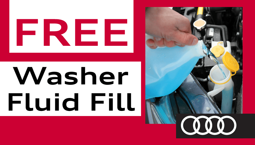 Free Washer Fluid Fill-Up
