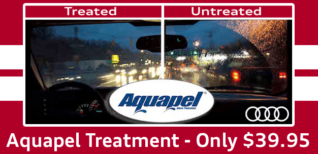 Keep the rain away with Aquapel!
