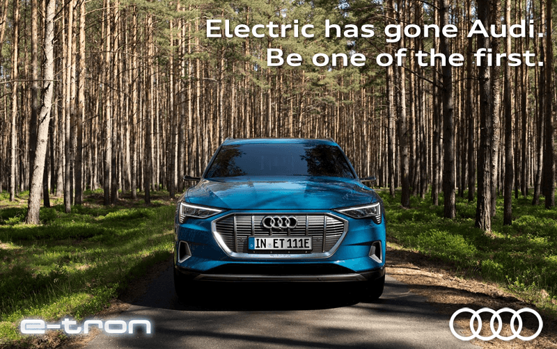 E-Tron – Electric has gone Audi