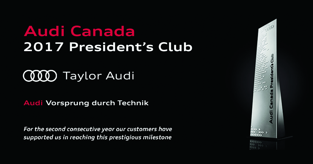2017 Audi presidents club