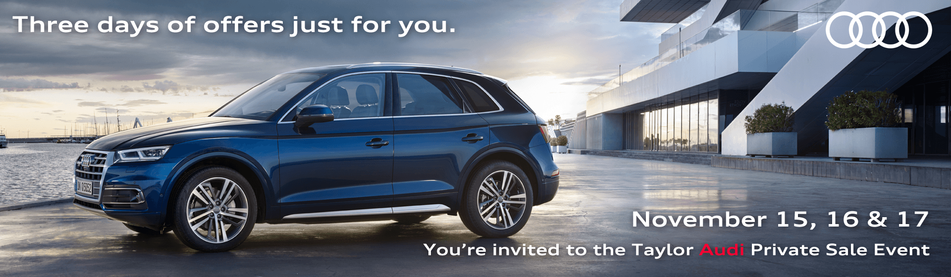 Taylor Audi Private Sales Event