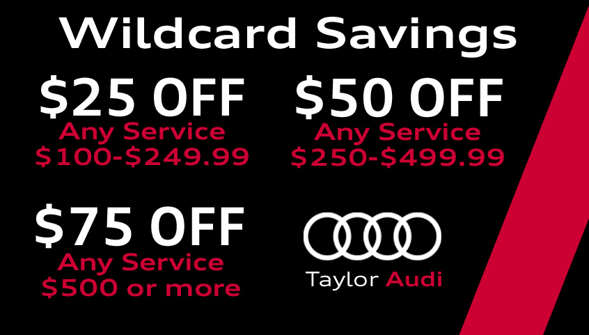 Wildcard Savings!