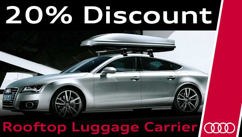 Luggage Carrier Promotion – 20% Discount