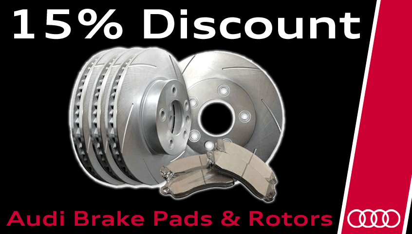 For the DIY'er – Save 15% off Brake Pads & Rotors