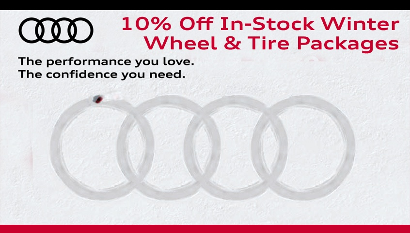Discount on all Remaining In-Stock Winter Wheel Packages
