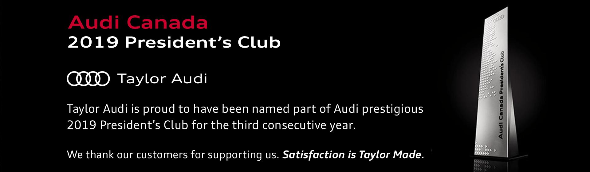 President's club 2019 slider