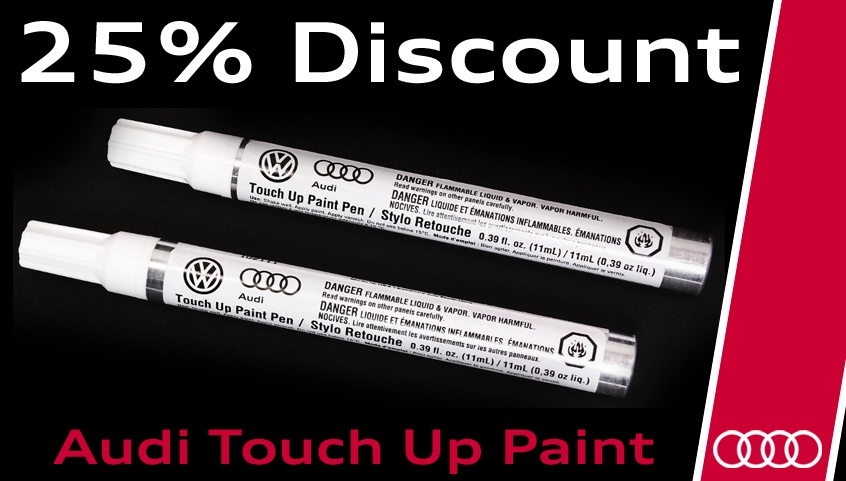 25% Off Touch Up Paint
