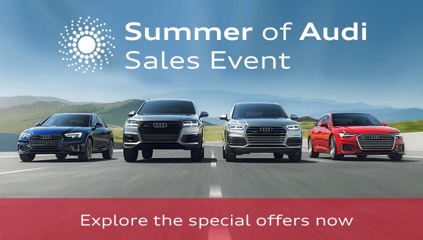 Summer of Audi Sales Event