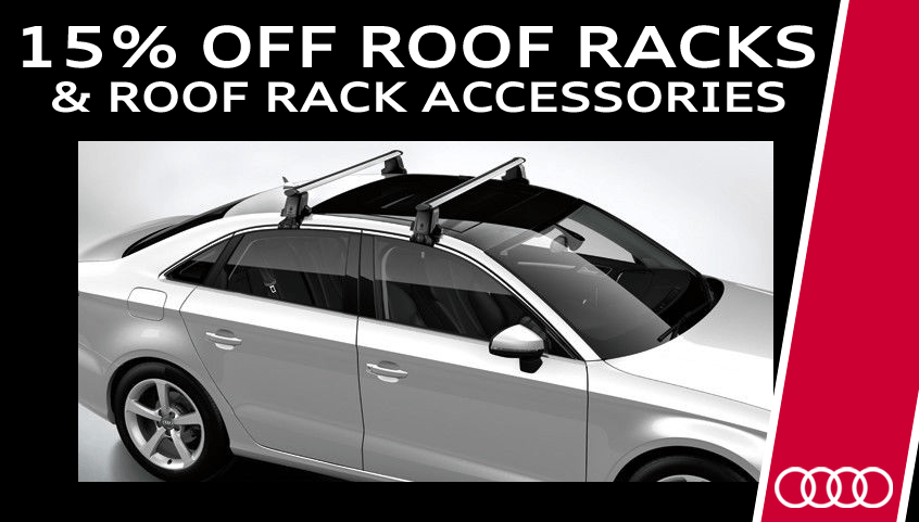 Save 15% On Roof Racks & Related Accessories