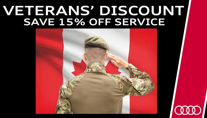 Veterans' Discount