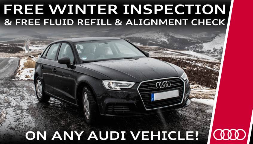 Free Winter Inspection & Alignment Check!