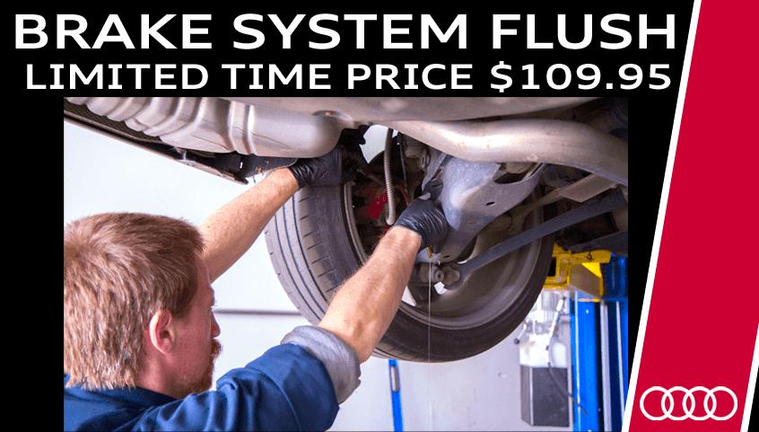 Brake System Flush Special