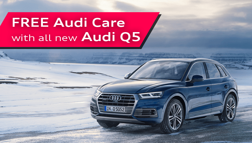 FREE Audi Care on new Q5