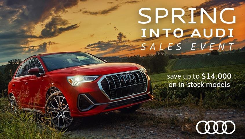 Spring Into Audi