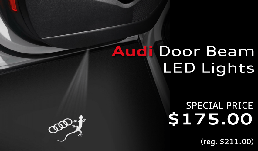 Audi LED Door Beam Lights