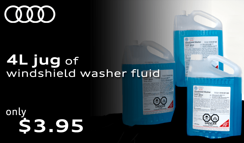 Keep A Clear View Ahead! Washer Fluid on Sale.
