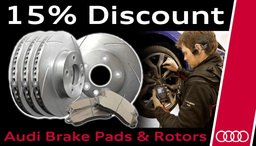 For the DIY'er – Save 15% off Brake Pads & Rotors