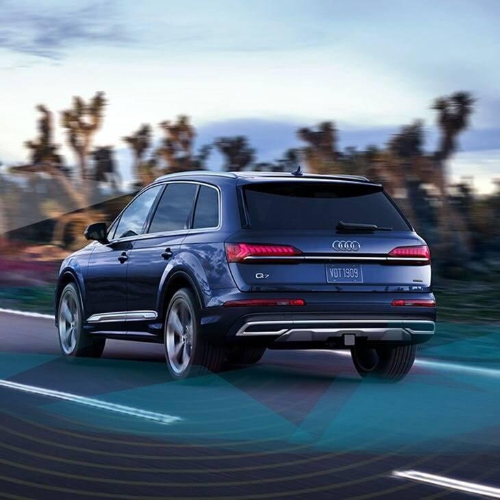 5 - Drive Assistance - 2020 Audi Q7