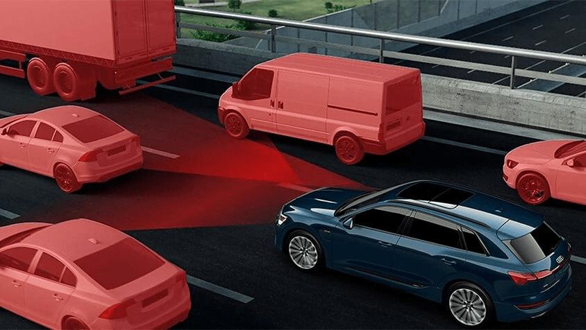 6 - Driver assistance -  2019 Audi ETron