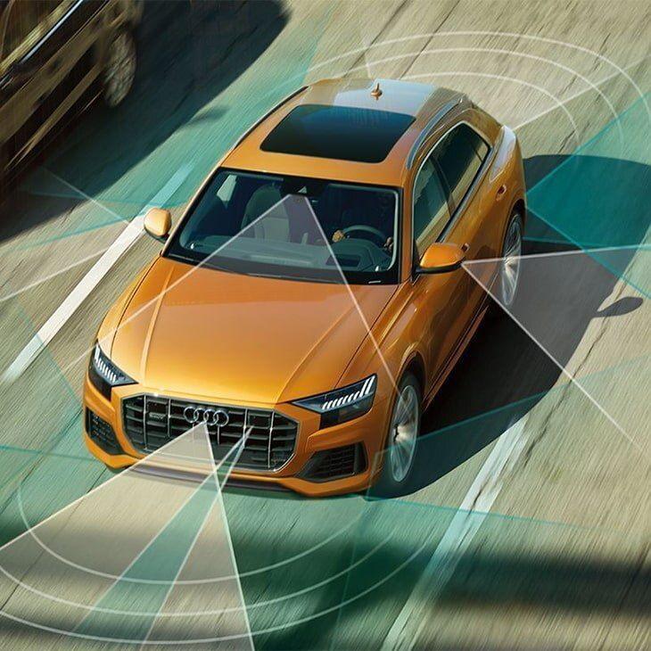 6 - Driver assist - 2020 Audi Q8
