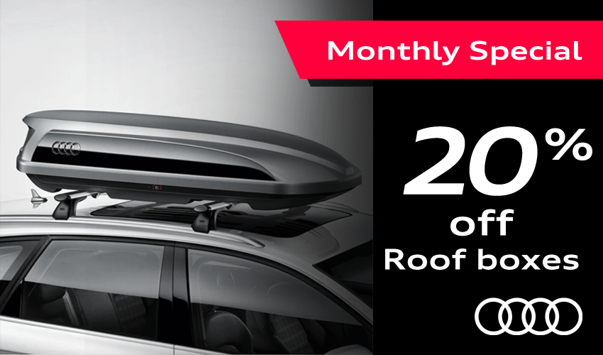 Save 20% On Audi Roof Boxes