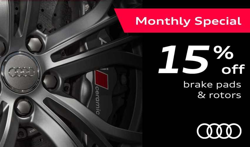 Save 15% off Brake Pads & Rotors