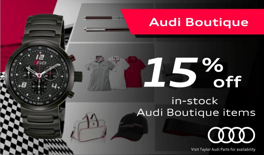 Audi Boutique Special