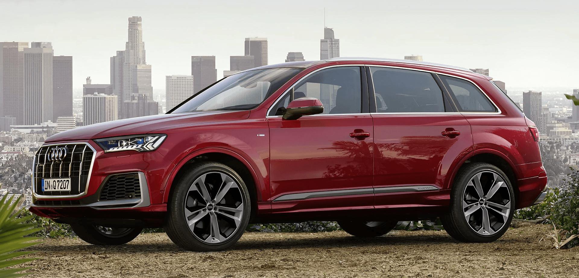 1 - hero - 2021 Audi Q7