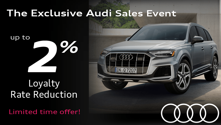 Exclusive Audi Event – Loyalty Offer