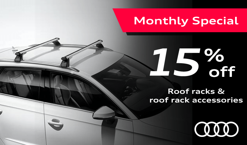 Save 15% On Audi Roof Racks
